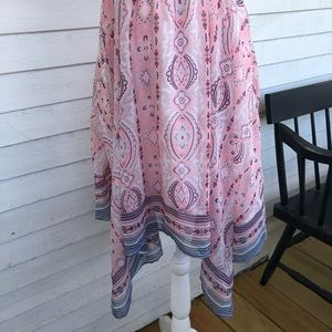 American Eagle Outfitters Dresses - AEO | Pink Paisley Kerchief Dress